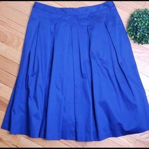 Talbots royal blue skirt